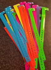 "48 3/4"" Neon Bright Assorted Plastic/ Vinyl Wristbands, Wristbands For Events,"