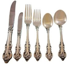 El Grandee by Towle Sterling Silver Flatware Set for 12 Service 79 pieces