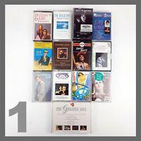 15 Vintage Cassette Tapes Case Bundle Collection Job Lot Retro Various Artists 1