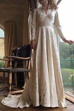 1950 Silk Wedding Dress