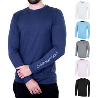 Calvin Klein Golf Mens Brooklyn Reflective LS Durable Sweater 34% OFF RRP