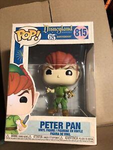 Funko Pop - Disney 815 - Disneyland 65th - Peter Pan - Mint