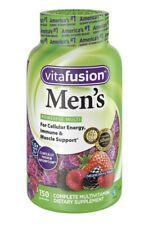 Vitafusion Men's Gummy Vitamins, 150 Count, Natural Berry Flavor, 03/21+