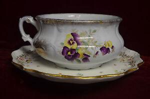 Antique Large Cauldon Selzer Cleveland England 2 pc.Platter Set China Beautiful
