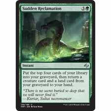 MTG FATE REFORGED * Sudden Reclamation