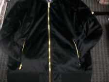 New Men's Jordan Craig Suede Bomber Jacket Black Size Medium Brand New!