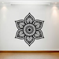 Large Wall Decal Sticker Art Removable Waterproof Vinyl Transfer Mandala UK