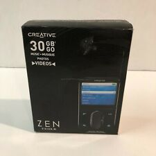 Creative Zen Vision:M 30 GB MP3 and Video Player - Black (ZVM30ENGBK)