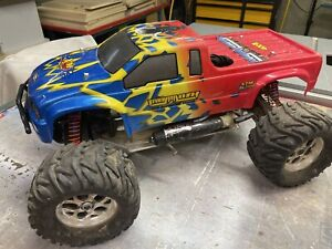 XTM MAMMOTH RC Nitro Monster Truck 24.7 /W Custom Parts! - Free Shipping!