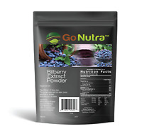 Bilberry Fruit Powder 4:1 Extract 4x Stronger Antioxident Anthocyanin 4oz