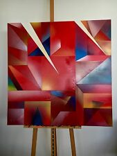 Reflecting Light Abstract Painting On Canvas 91.4cm x 91.4cm