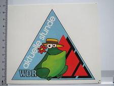 Aufkleber Sticker WDR - aktuelle stunde - Radio - UKW(S1453)