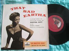 """Eartha Kitt –That Bad Eartha His Master's Voice DLP 1067 UK 10"""" Vinyl LP album"""