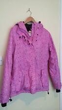 Aloha womens ski jacket pink size small winter sports