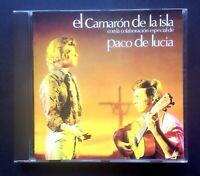 EL CAMARON DE LA ISLA con PACO DE LUCIA SPAIN CD MERCURY 1997