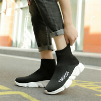 Men's Womens Unisex Casual Shoes Ultralight Sports Sneakers Sock-Like Youth