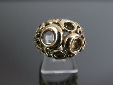 VINTAGE 9ct GOLD DESIGNER RING C.1970