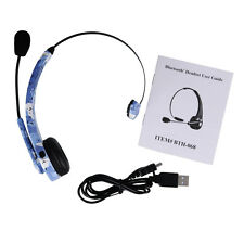 New For Ps3 Playstation 3 Wireless Bluetooth Gaming Mic Headset Earphone