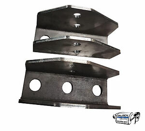 Drop Boxes weld in for Toyota Landcruiser 80 & 100 Series live axle