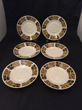 Ridgway Indian Summer Pure Bone China Crafted In England Retro Vintage Design