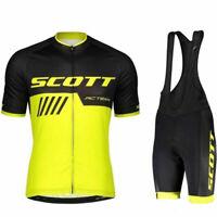 Men's 2019 new Cycling Jersey Bib Shorts Set summer Bike uniform Bicycle Clothes