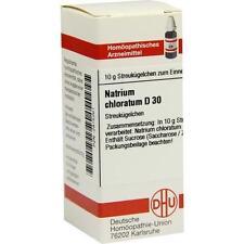 NATRIUM CHLORATUM D 30 Globuli 10g PZN 2815261
