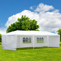 10X30ft Gazebo Canopy Party Tent Shelter Portable Outdoor Event Sunshade w/