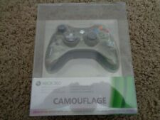New Official Xbox 360 Camouflage Special Edition Wireless Controller (Sealed)