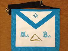 Franc-Maçonnerie tablier de Maître Rite Français - Masonic apron