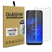 Samsung Galaxy S8 Tempered Glass Screen Protector, Full Clear, Full Curved Cover