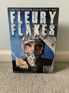 "Marc-Andre Fleury ""Fleury Flakes"" Ltd. Ed. Collector's Cereal Box Sealed 2012"