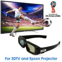 Universal Blau Zahn Aktive 3D-Brille für Epson Optoma Projektoren Sony 3DTV