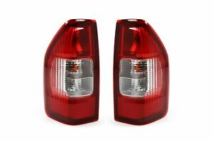 Isuzu Rodeo Dmax 02-12 Rear Lights Set With Bulbs Driver Passenger Left Right