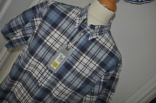 Marks and Spencer Loose Fit Short Sleeve Check Men's Casual Shirts & Tops