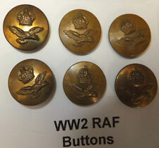Air Force Button Collectable WWII Military Uniforms