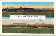 Miller Bros. Co. Mfg's of Oak Flooring in Johnson City TN Postcard (blank back)