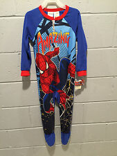 Marvel Spider-man Footed Sleeper Pajamas (size 4T)