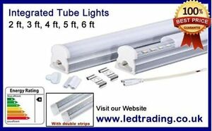 LED Integrated Tube Light T8,1ft,ft,3ft,4ft,energy saving, complete with fitting