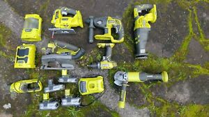 Ryobi One Power tools . 9 Tools plus batteries and charger
