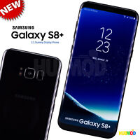 1:1 SAMSUNG GALAXY S8+ Dummy Fake Toy Cell Phone Non-Working Fake Prop Black NEW