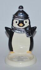 Bath & Body Works Ceramic Penguin Mini Candle Holder