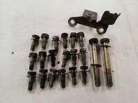 BMW E92 E93 M3 Naturally Aspirated Engine Oil Pan Bolt Genuine 07129904544 Fits