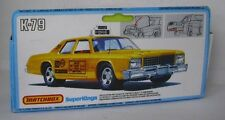Repro Box Matchbox SuperKings K-79 Plymouth US Taxi