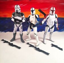 Hasbro Star Wars The Black Series 6? Clone Trooper Army Builder 3-Pack.