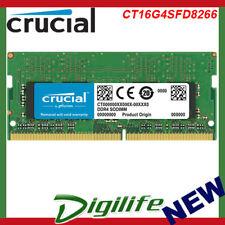 Crucial 16GB (1x16GB) DDR4 PC4-21300 2666MHz SODIMM CL19 CT16G4SFD8266