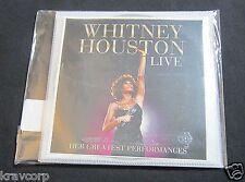 Whitney Houston 'Live' 2014 Promo Cd/Dvd Set-Sealed