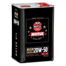 MOTUL 20W50 MINERAL CLASSIC ENGINE OIL 5 LITRES 5L CAN
