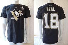 NHL T-Shirt Pittsburgh Penguins James Neal 18 Stanley Cup Trikot Eishockey