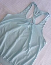 Jockey Women's XL Running Workout Fitness Tank Top Light Blue