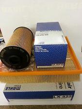 BMW E39 535i 540i 1996-2004 Genuine Mahle Oil Air Filters OX152/1D LX622